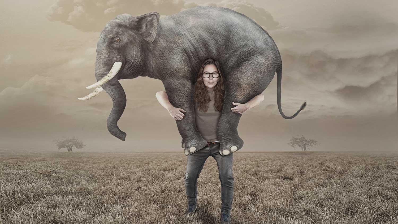 Serpil Edelstock Elephant