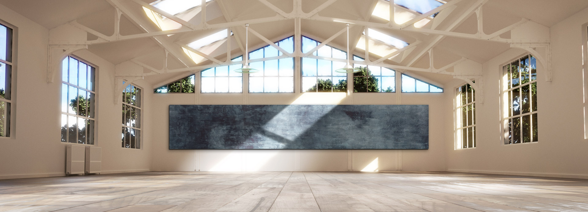 customized edelstock big size painting